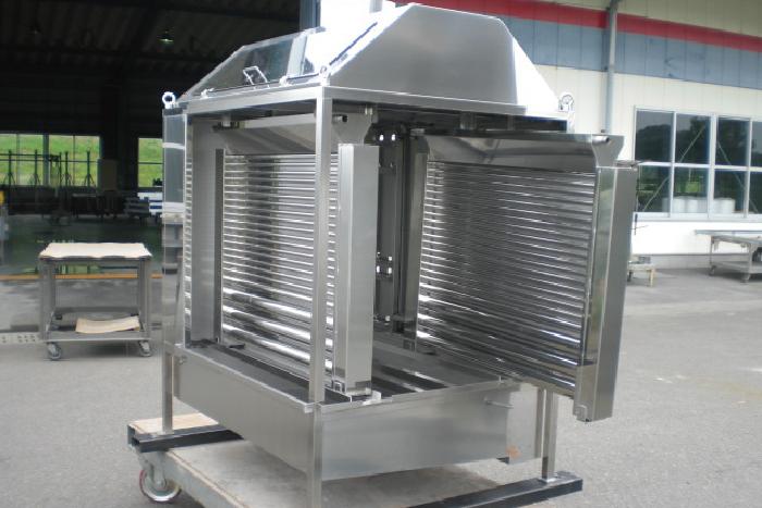 流下液膜式熱交換器